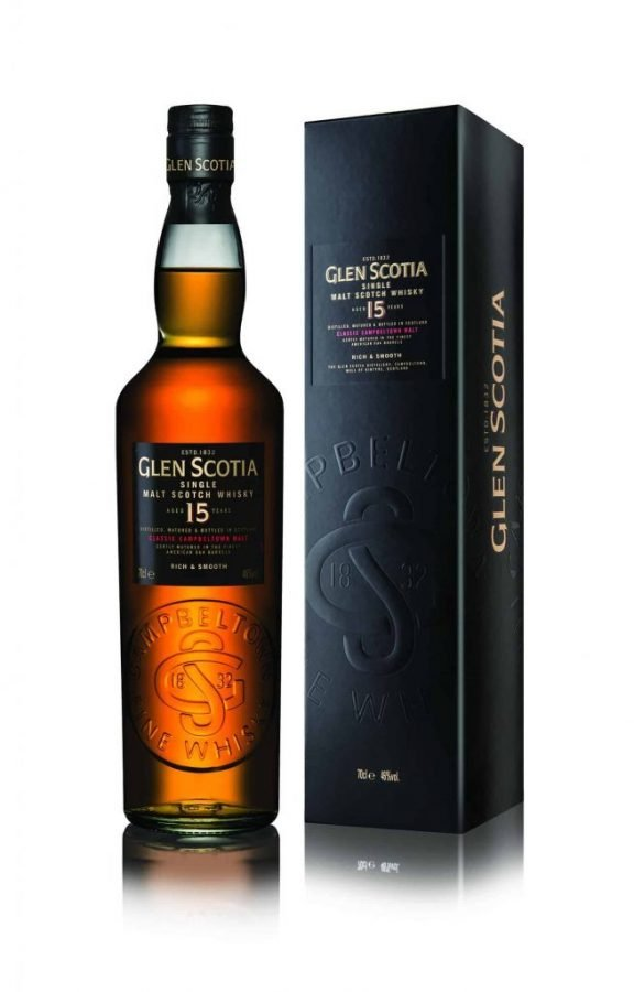 Glen Scotia 15 Year Old 70cl 46%