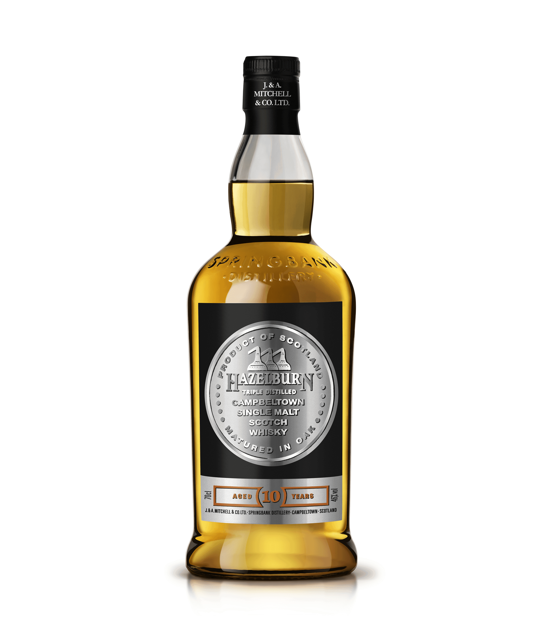 Hazelburn 10 Year Old 70cl 46%