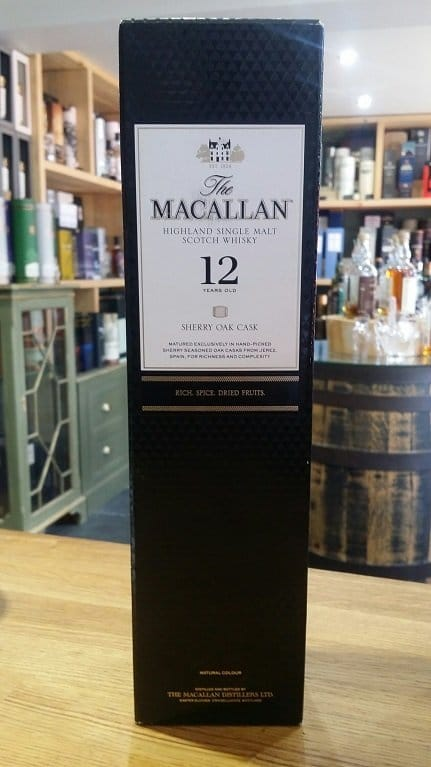 The Macallan12 Year Old Sherry Oak 70cl 40%