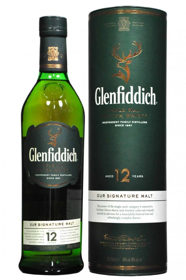 Glenfiddich  12 Year Old 70cl 40%
