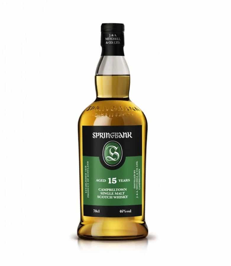 Springbank  15 Year Old 70cl 46% 2020 Release