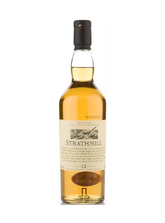 Strathmill  12 Year Old Flora and Fauna 70cl 43%