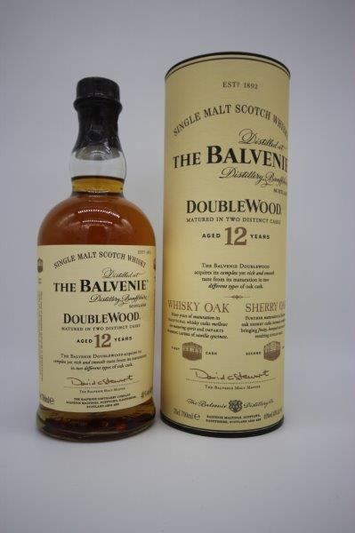 The Balvenie Doublewood 12 Year Old 70cl 40%