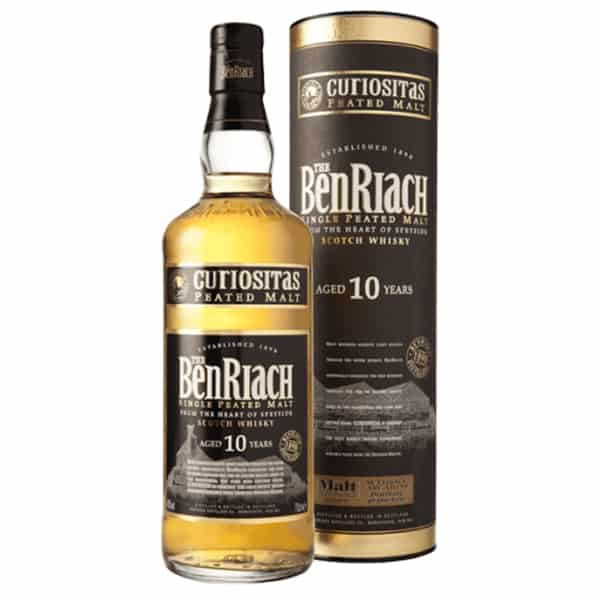 """Benriach 10 year old (Peated """"Curiositas"""") - 70cl 40%"""