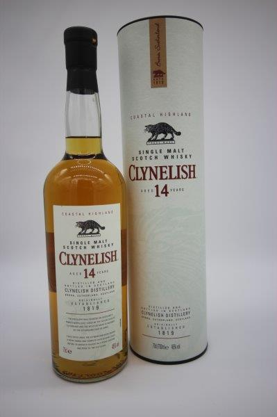 Clynelish 14 year old (IN TUBES) - 70cl 46%