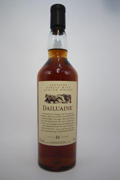 Dailuaine 16 Year Old Flora and Fauna 70cl 43%