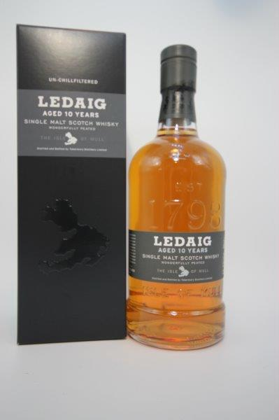 Ledaig 10 Year Old 70cl 46.3%