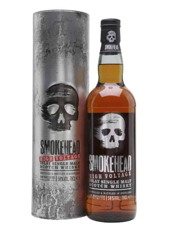 Smokehead High Voltage Malt Whisky 70cl 58%