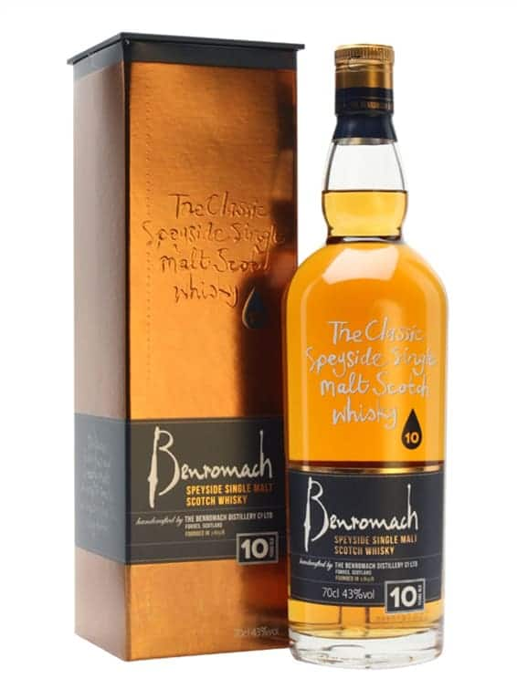 Benromach 10 Year Old 70cl 43%