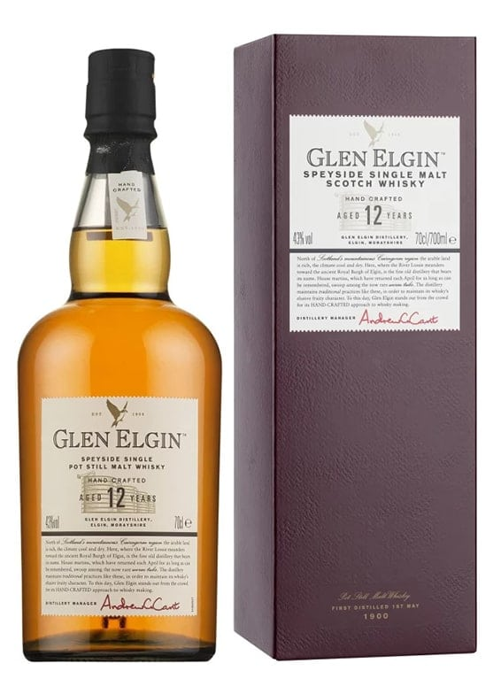 Glen Elgin 12 Year Old 70cl 43%