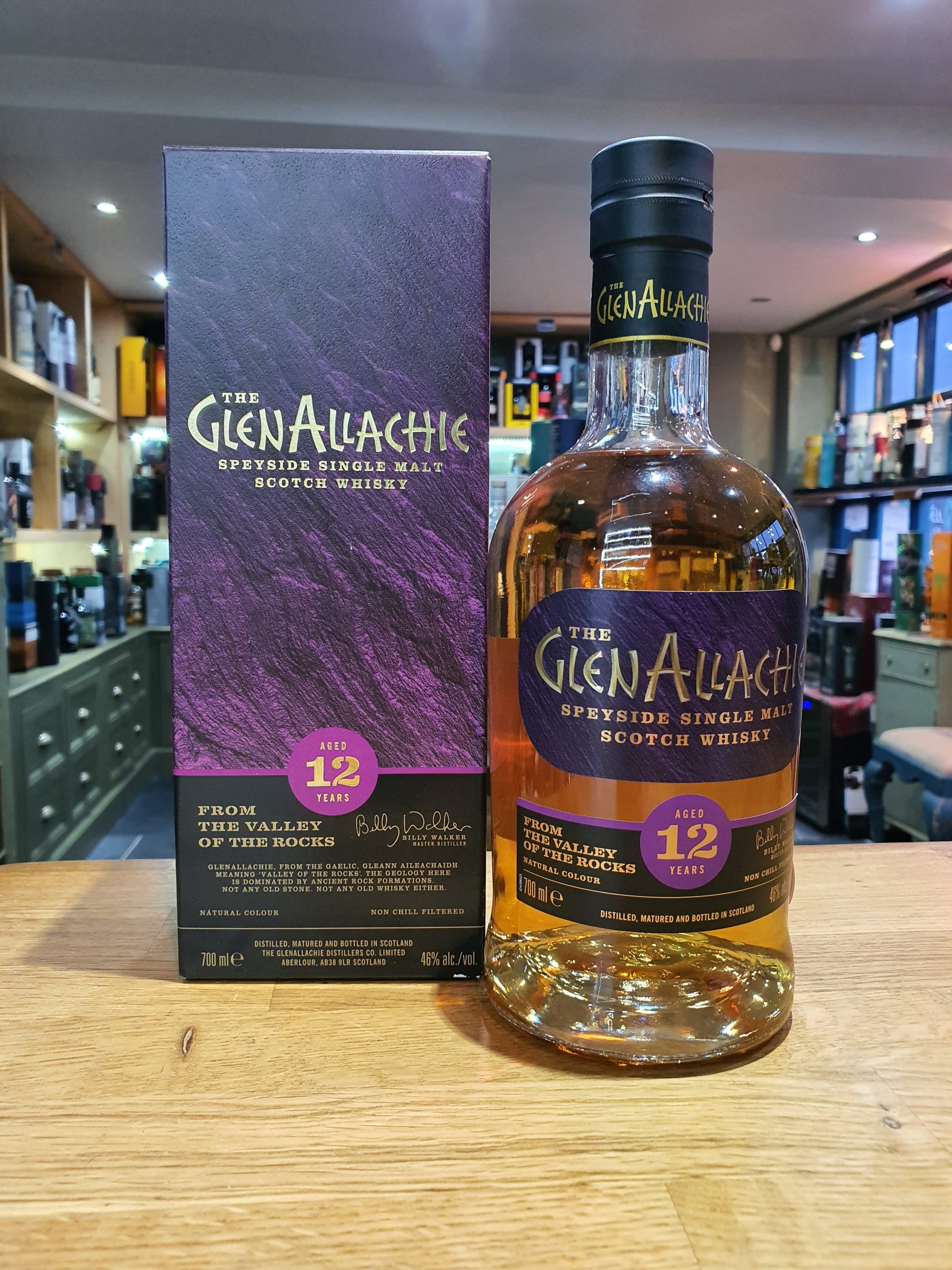 GlenAllachie 12 Year Old 70cl 46%