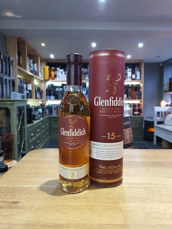 Glenfiddich 15 Year Old 20cl 40%