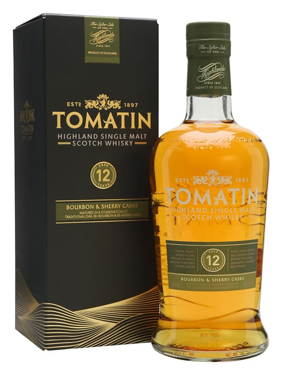 Tomatin 12 Year Old 70cl 43%