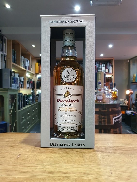 Mortlach 15 Year Old Distillery Labels (Gordon and MacPhail) 70cl 43%