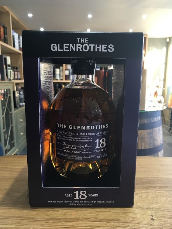 The Glenrothes 18 Year Old Soleo Collection 70cl 43%