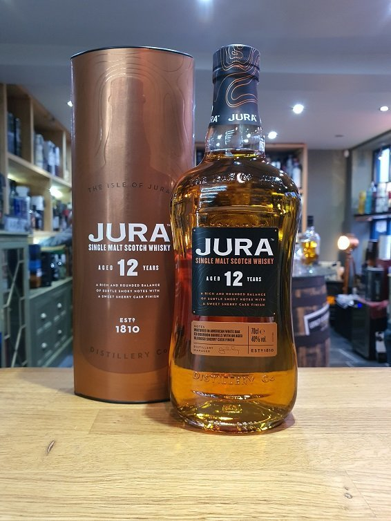 Isle of Jura 12 year old 70cl 40%