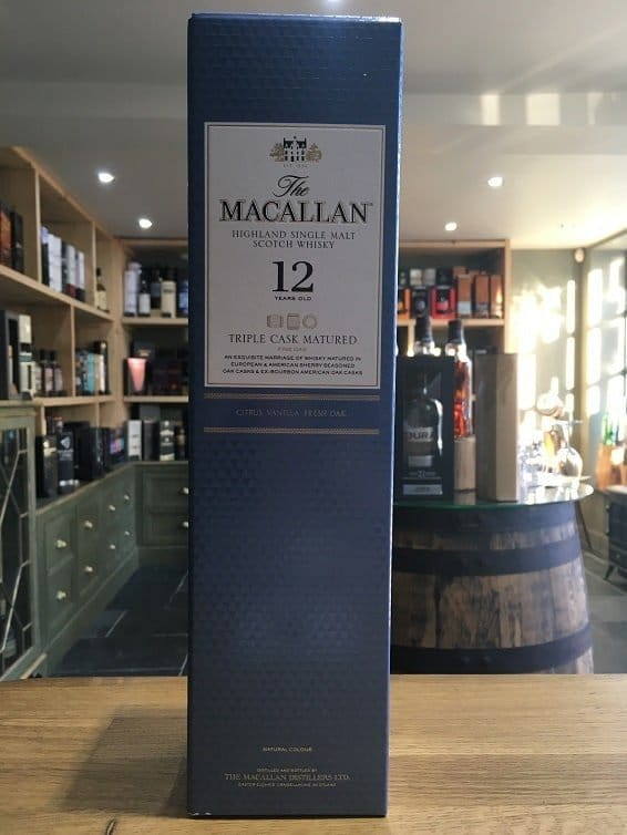 The Macallan 12 Year Old Triple Cask Matured Fine Oak 70cl 40%