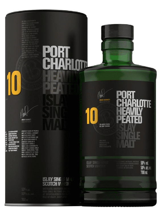 Port Charlotte 10 year old Heavily Peated 70cl 50%