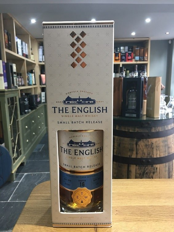 The English Whisky Co Chapter 16 (Bottled 2017) Small Batch Release 70cl 46%