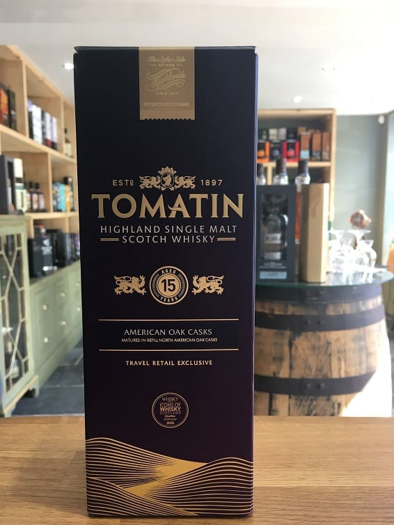 Tomatin 15 Year Old 70cl 46%