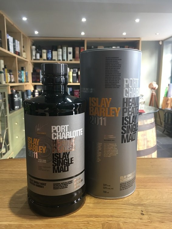 Port Charlotte Islay Barley 2011 Heavily Peated 6 Year Old 70cl 50%