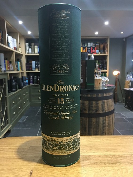 GlenDronach 15 Year Old Revival 70cl 46%