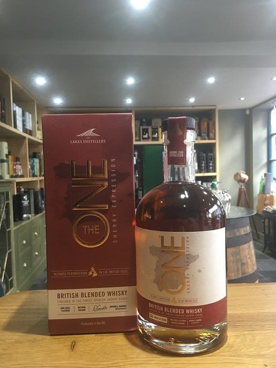 The Lakes Distillery The One Sherry Expression 70cl 46.6%