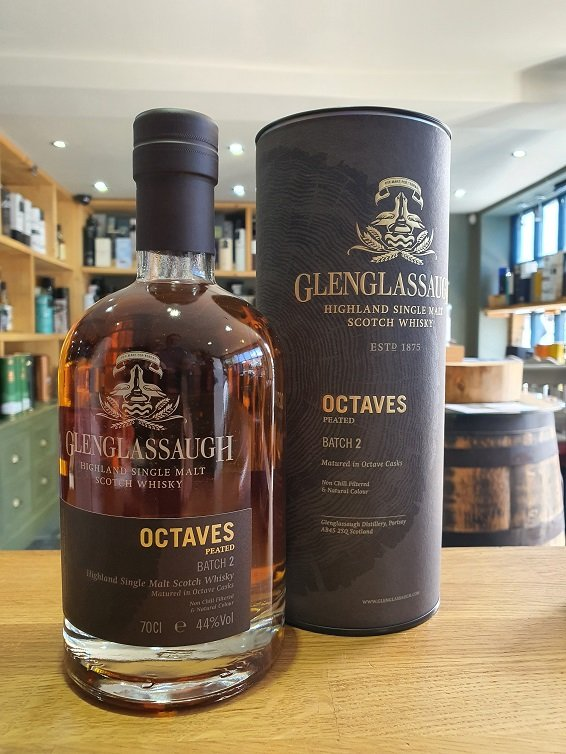 Glenglassaugh octaves batch 2 Peated 70cl