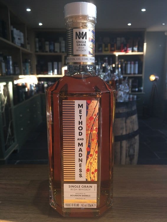 Midleton Method and Madness Single Grain Irish Whiskey 70cl 46%
