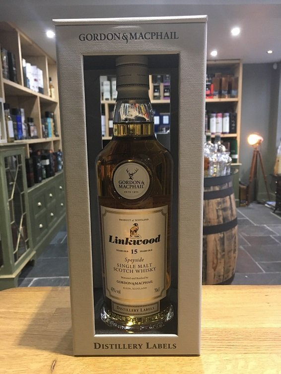 Gordon and MacPhail Distillery Labels Linkwood 15 Year Old 70cl 43%