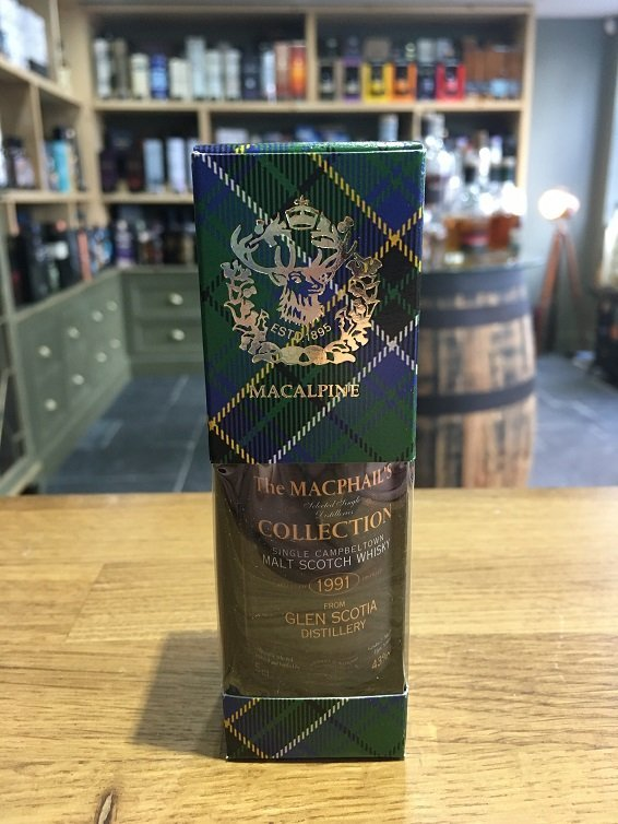 The MacPhails Collection Glen Scotia 1991 5cl 43%
