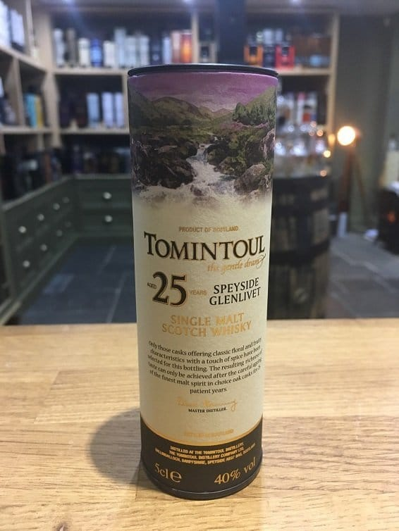 Tomintoul 25 Year Old 5cl 40%