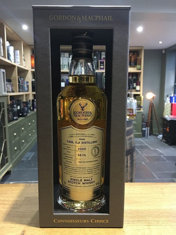 Caol Ila 17 year old Connoisseurs Choice (Gordon & MacPhail) 70cl 56.1%