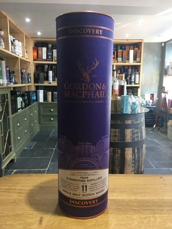 Glenrothes Aged 11 Years Gordon & MacPhail Discovery 70cl 43%