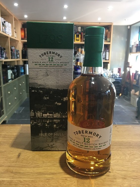 Tobermory 12 Year Old 70cl 46.3%