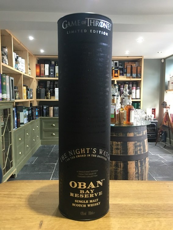 Game of Thrones The Knights Watch Oban Bay Reserve 70cl 43%