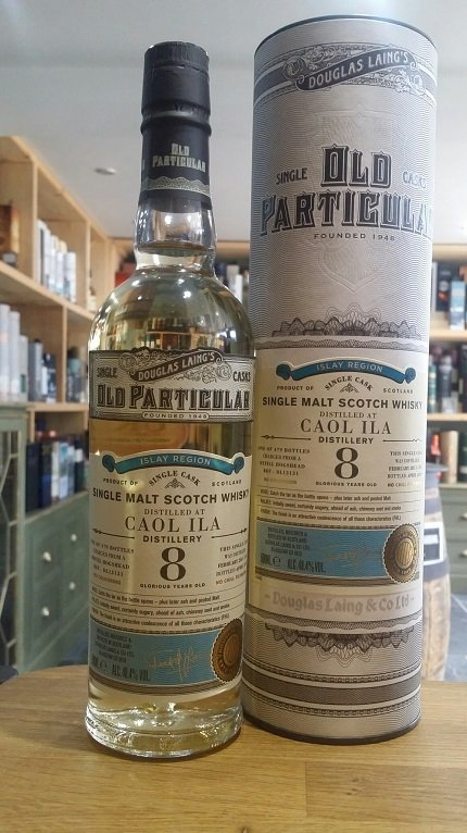 Caol Ila 8 Year Old 2011 (cask 13131) - Old Particular (Douglas Laing) 50cl 48.4%