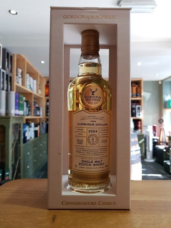 Gordon and MacPhail Connoisseurs Choice Glenburgie 2004 Connoisseurs Choice 14 Year Old 70cl 46%