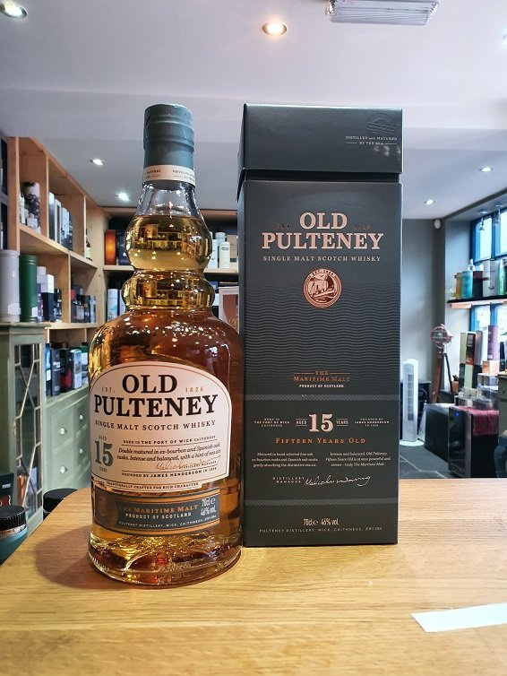 Old Pulteney 15 Year Old 70cl 46%