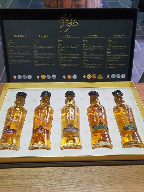 Paul John Miniature Box Set 5 x 5cl