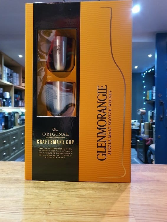 Glenmorangie 10 Year Old Craftsman Cup Gift Set 70cl 40%