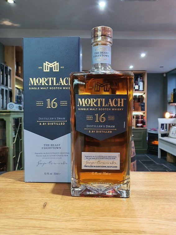 Mortlach 16 year old 70cl 43.4