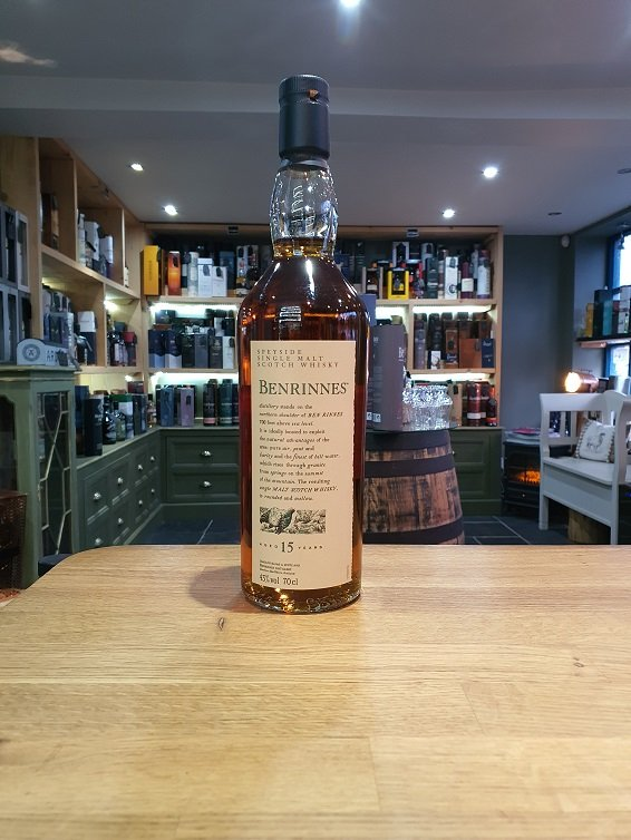 Benrinnes 15 Year Old Flora and Fauna 70cl 43%