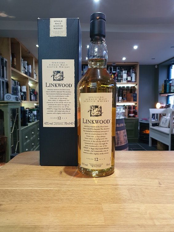 Linkwood 12 year old Flora and Fauna - 70cl 43%