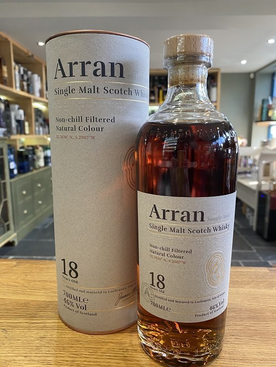 Arran Aged 18 Years 70cl 46%