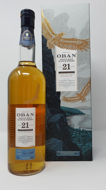 Oban Aged 21 Years 70cl 57.9%