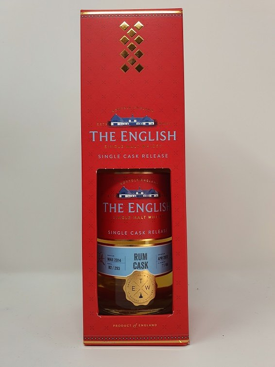 The English Red Range Rum Cask Finish Single Cask Release 70cl 59.9%