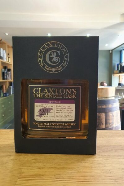 Claxton's The Single Cask - Glentauchers Aged 20 Years 70cl