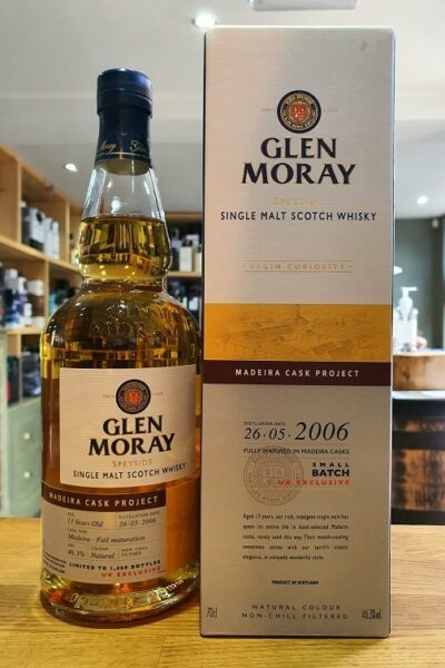 Glen Moray Maderia Cask Project 2006 70cl