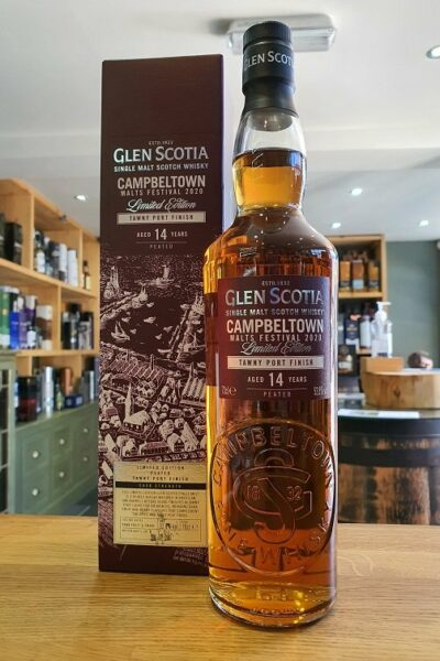 Glen Scotia Tawny Port Finish Aged 14 Years Peated 70c